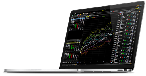 Make more informed decisions with integrated stock charting software.